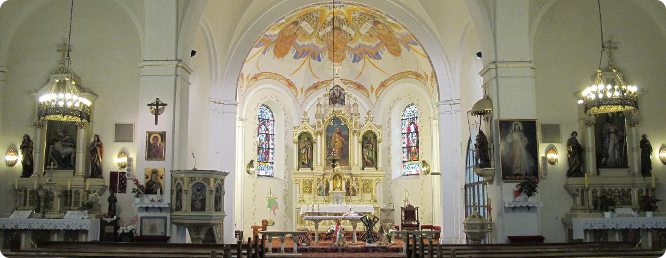Kościół parafialny - wnętrze